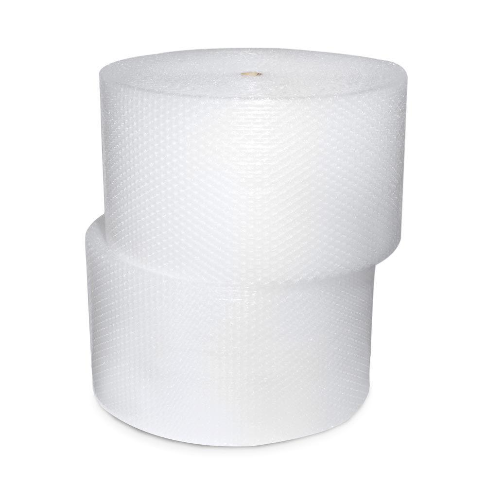 null 1/2 in. x 24 in. x 250 ft. Perforated 2-Roll Bubble Cushion