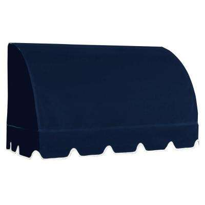 45 ft. Savannah Window/Entry Awning (44 in. H x 36 in. D) in Navy