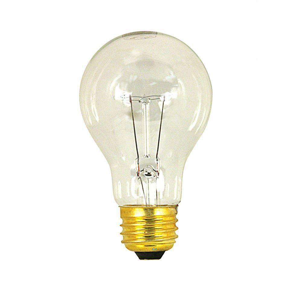 Feit Electric 60-Watt Incandescent Clear A19 Light Bulb (120-Pack)-DISCONTINUED