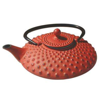 Amity 3.32-Cup Teapot in Red