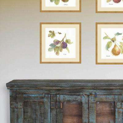 21 in. x 21 in. 'Orchard Bloom III' by Lisa Audit Fine Art Paper Print Framed with Glass Wall Art