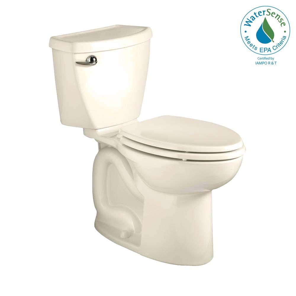 American Standard Cadet 3 FloWise 2-Piece 1.28 GPF Right Height High Efficiency Elongated Toilet in Linen-DISCONTINUED