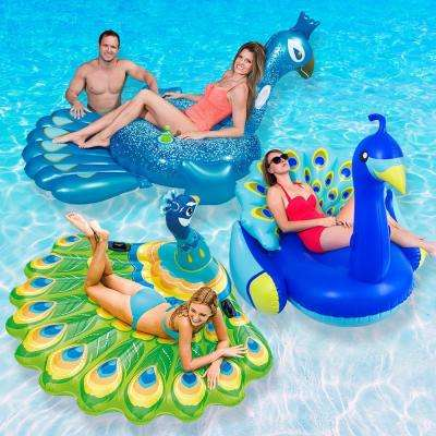 Ultimate Peacock Pool Float Combo Value Pack