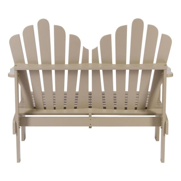 Shine Company 40 In Slat Back Contemporary Hardwood Indoor Bench Patio Lawn Garden Patio Furniture Accessories