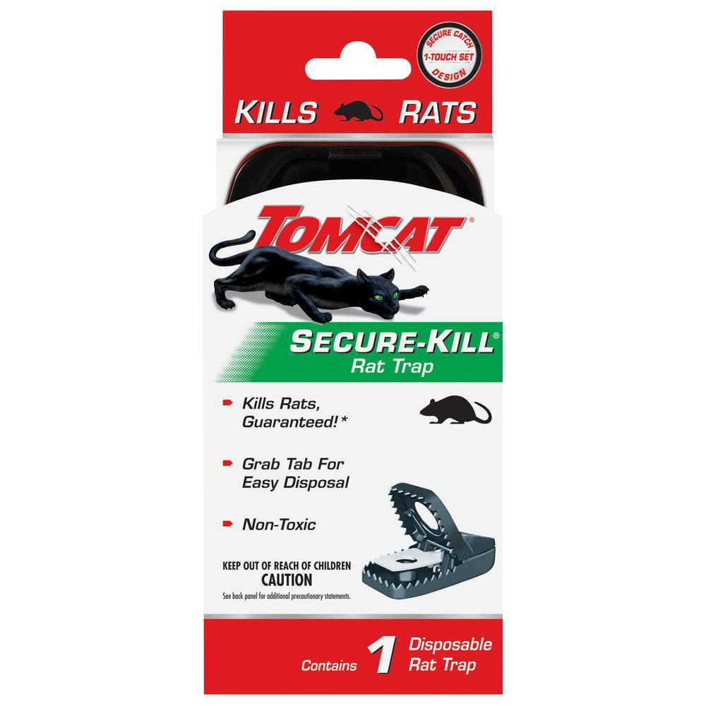 Tomcat Secure Kill Rat Trap 0360810 The Home Depot