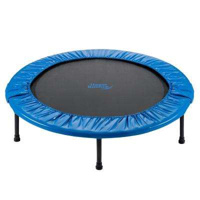 44 in. Mini Foldable Rebounder Fitness Trampoline