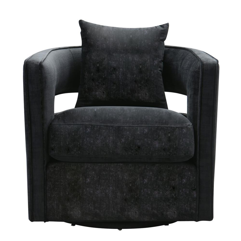 Kennedy Black Swivel Chair