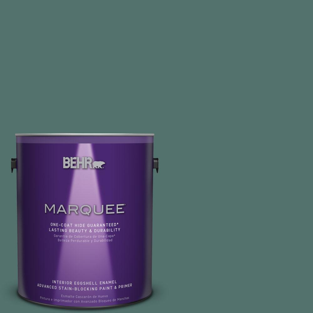 1 gal. #HDC-WR16-04 Noble Fir Eggshell Enamel Interior Paint