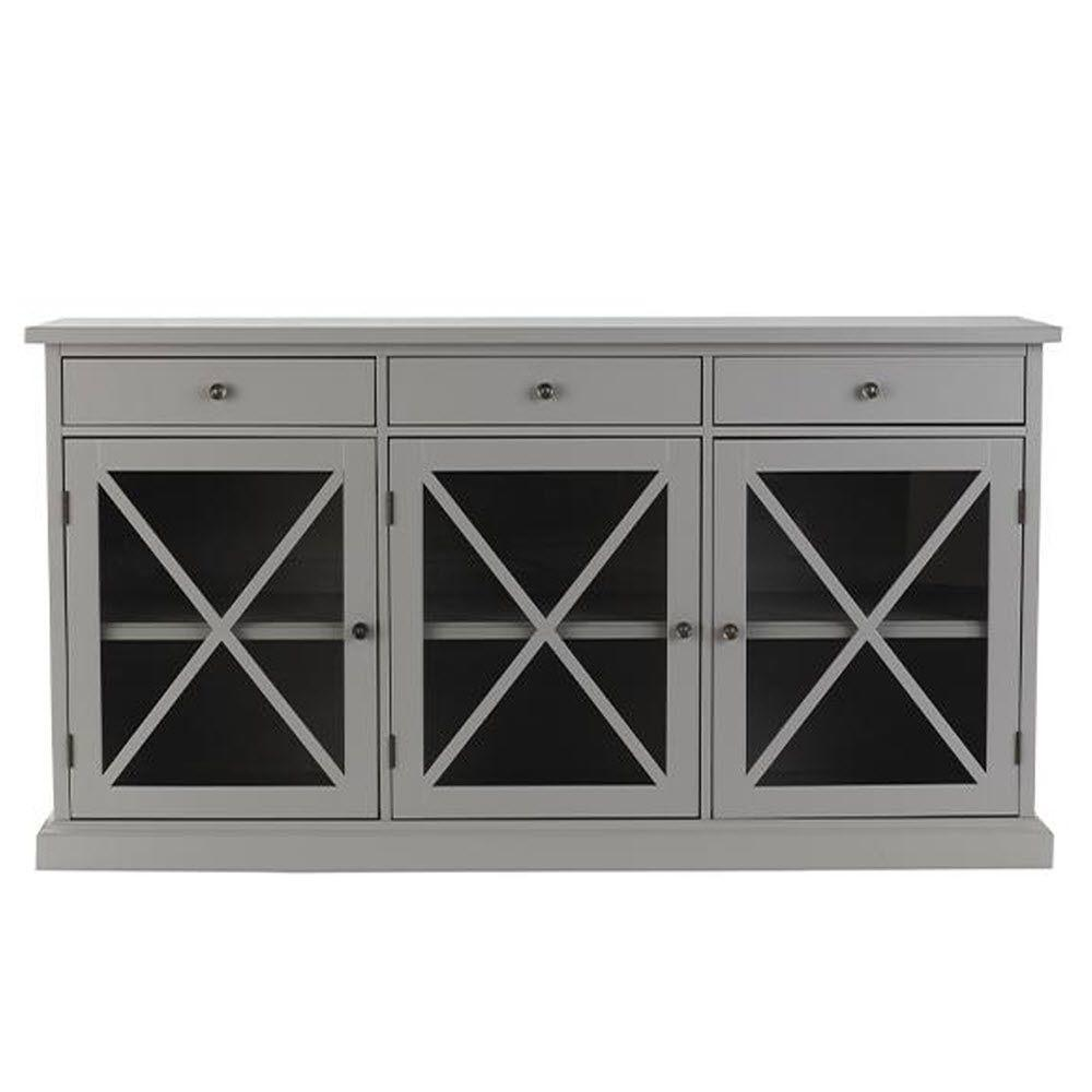 Home Decorators Collection Hampton Grey Sideboard