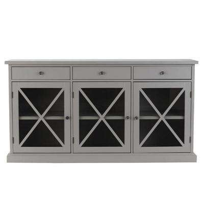 Hampton Grey Buffet