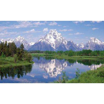 120 in. x 60 in. Window Well Scene - Mountain Two