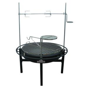 RiverGrille Cowboy 31 inch Charcoal Grill and Fire Pit by RiverGrille