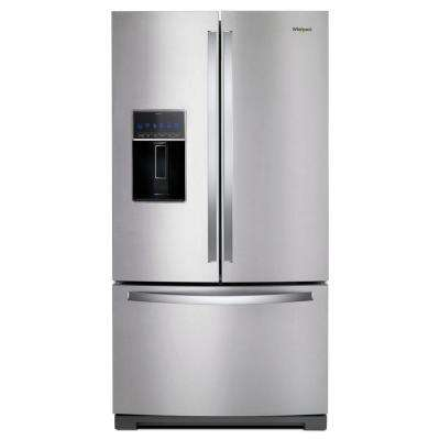 27 cu. ft. French Door Refrigerator in Fingerprint Resistant Stainless Steel