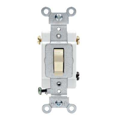 20 Amp 3-Way Preferred Toggle Switch, Ivory