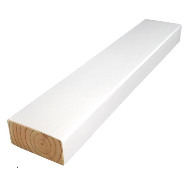 2 in. x 4 in. x 8 ft. #2 DF Polymer Coated White Treated Lumber