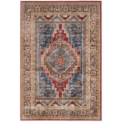 Bijar Royal/Brown 7 ft. x 9 ft. Area Rug