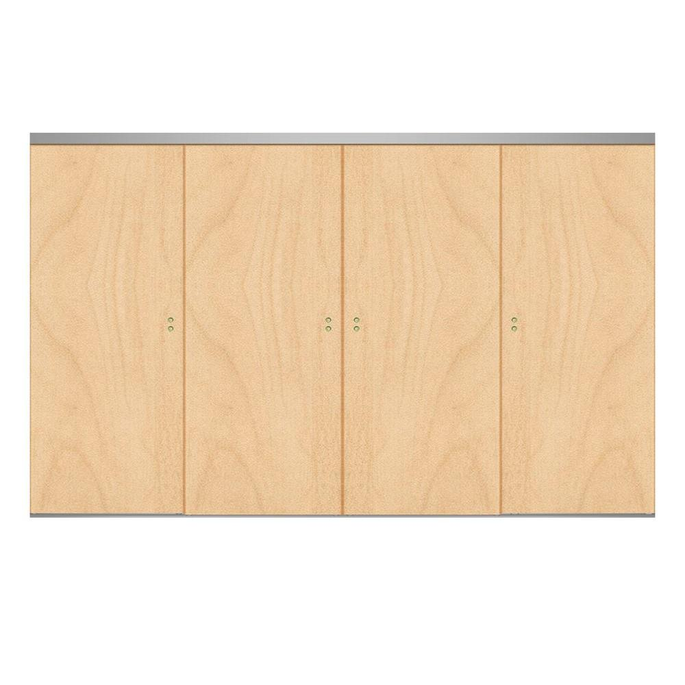 120 in. x 80 in. Smooth Flush Stain Grade Maple Solid