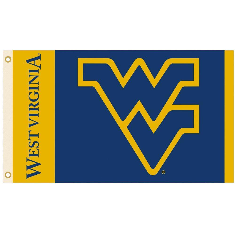 BSI Products NCAA 3 ft. x 5 ft. West Virginia Flag