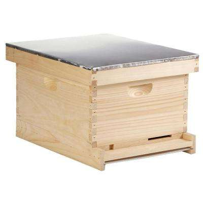 10-Frame Wood Complete Hive