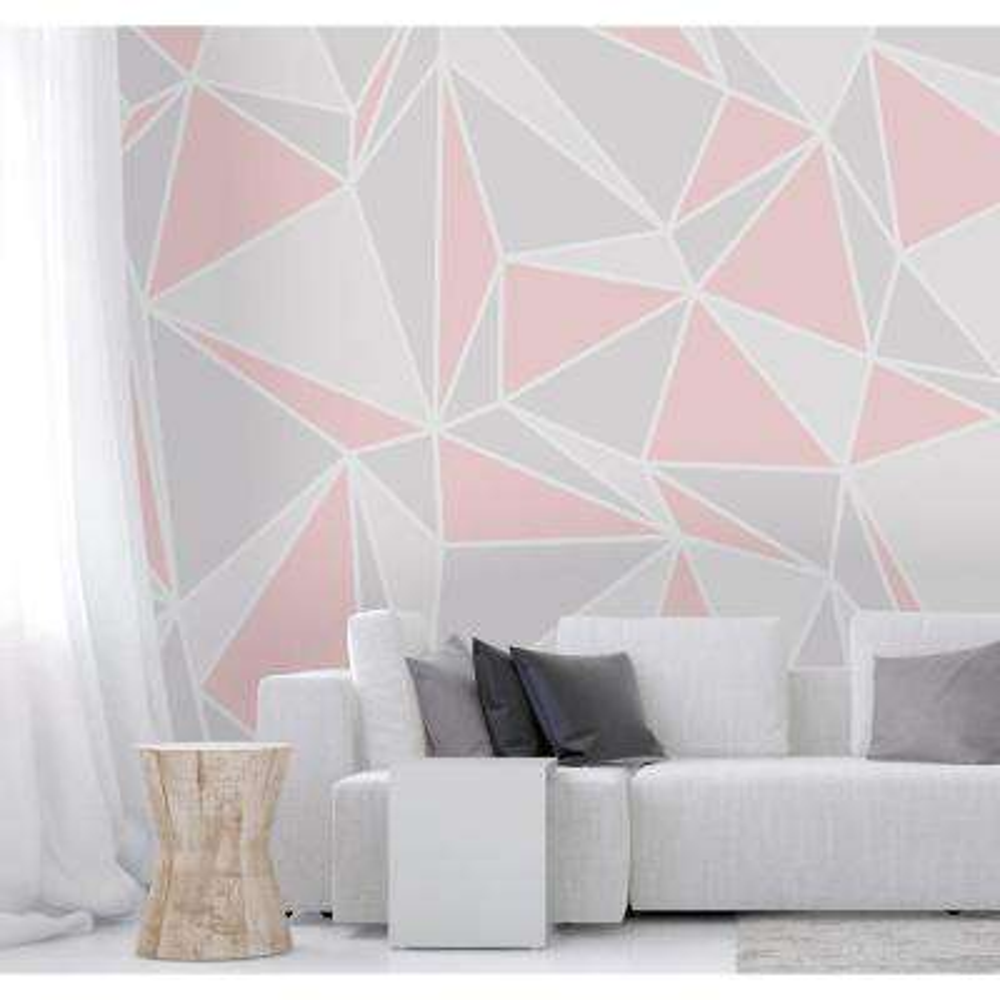 Pink Radian Wall Mural