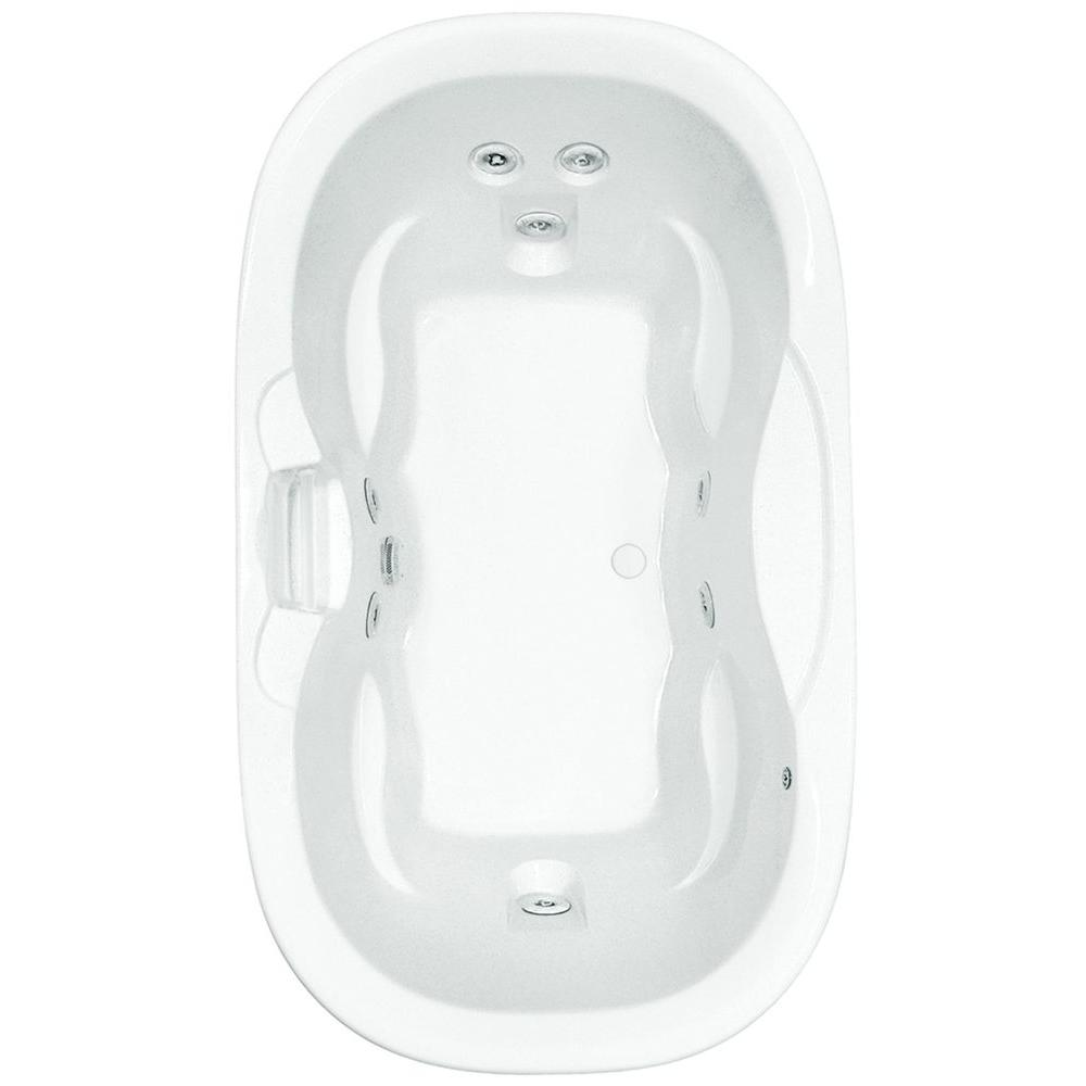 Ariel 701 In Center Drain Oval Apron Front Whirlpool Bathtub Change Over Switch Wiring Diagram On Universal 70 Acrylic Drop With