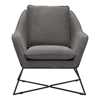 Lincoln Gray Lounge Chair