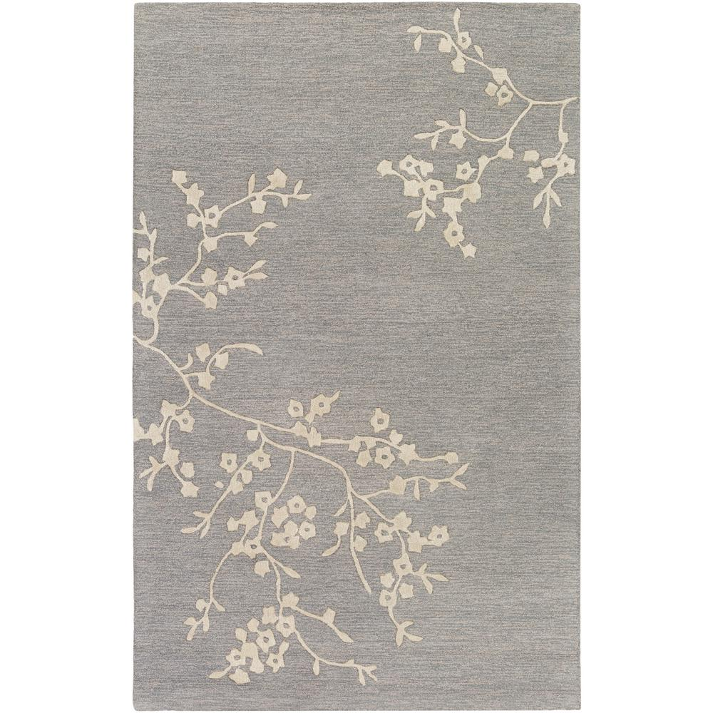 Alexander Smith Gray 5 ft. x 8 ft. Indoor Area Rug
