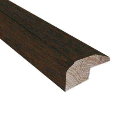 Hickory Chestnut 0.88 in. Thick x 2 in. Wide x 78 in. Length Hardwood Carpet Reducer/Baby Threshold Molding