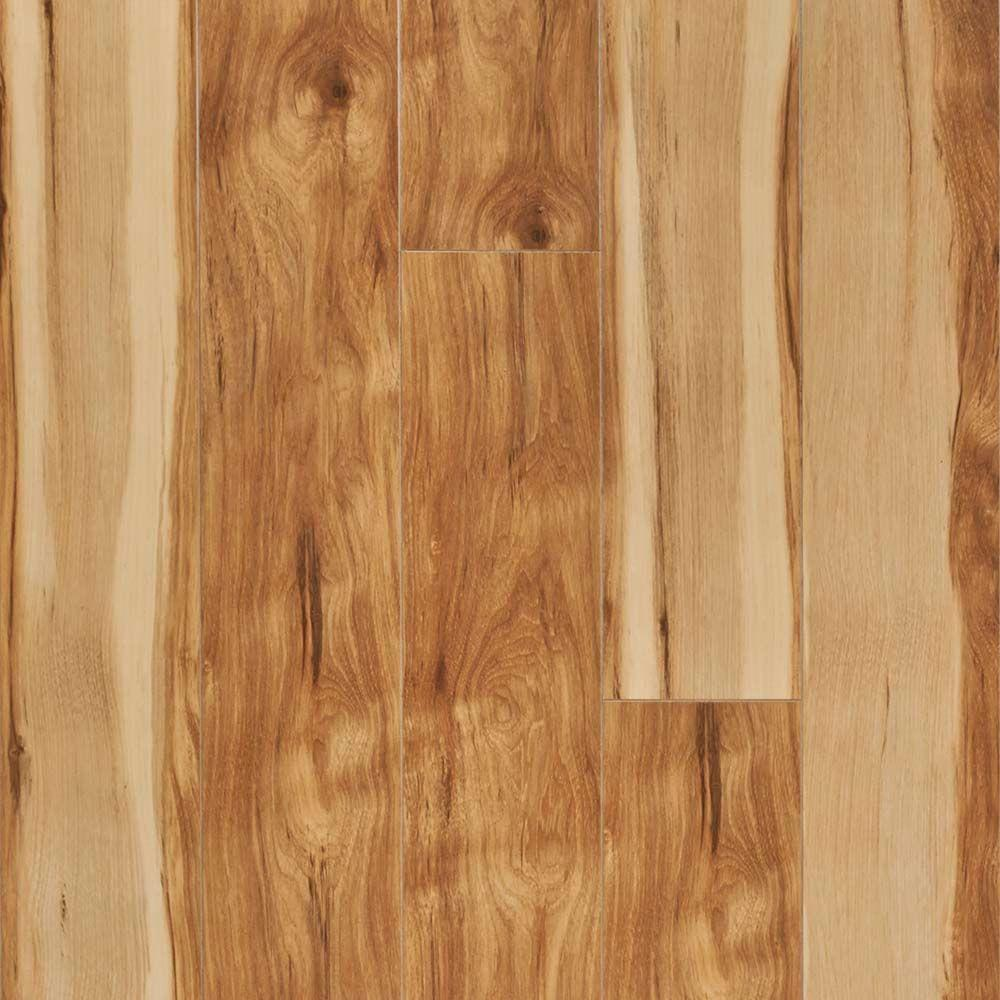 Pergo xp country natural hickory 10 mm thick x 5 1 4 in for Hickory flooring