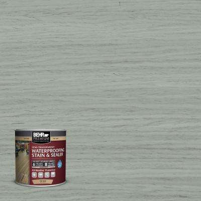 8 oz. #ST-149 Light Lead Semi-Transparent Waterproofing Exterior Wood Stain and Sealer Sample