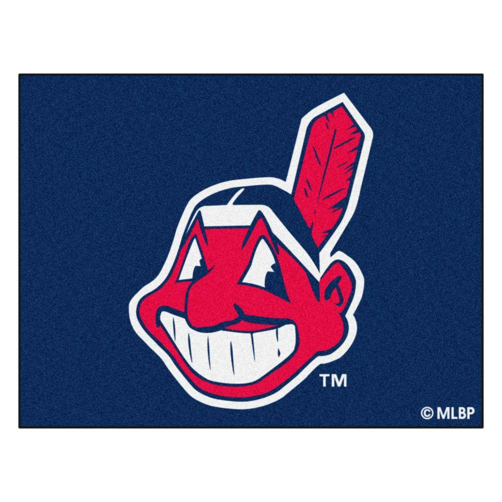 FANMATS Cleveland Indians 2 ft. 10 in. x 3 ft. 9 in. All-Star Rug