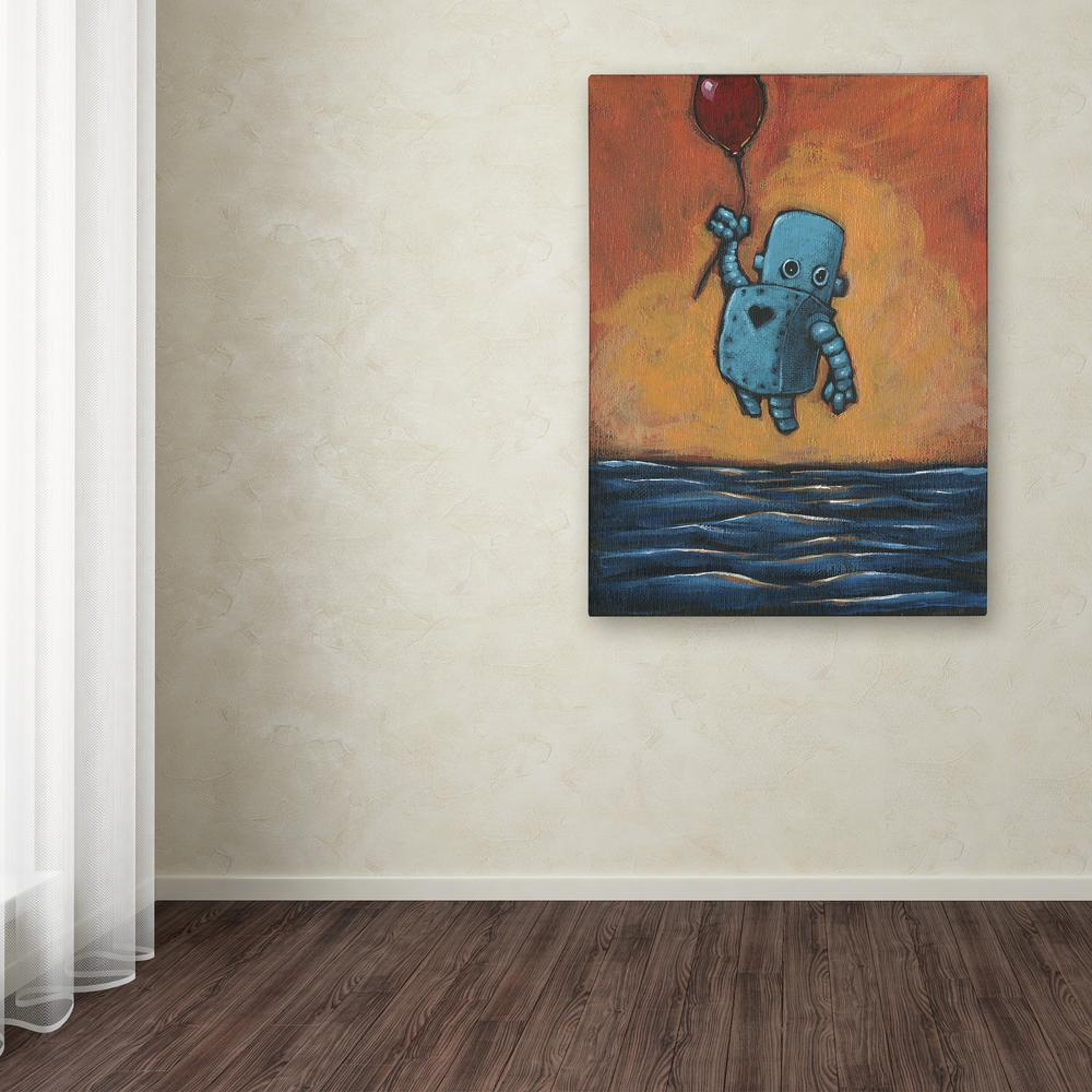 "19 in. x 14 in. ""Float II"" by Craig Snodgrass Printed"