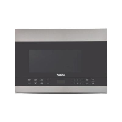 1.4 cu. ft. Over the Range Microwave in Stainless Steel with Sensor Cooking, Recirculating or Fully Venting
