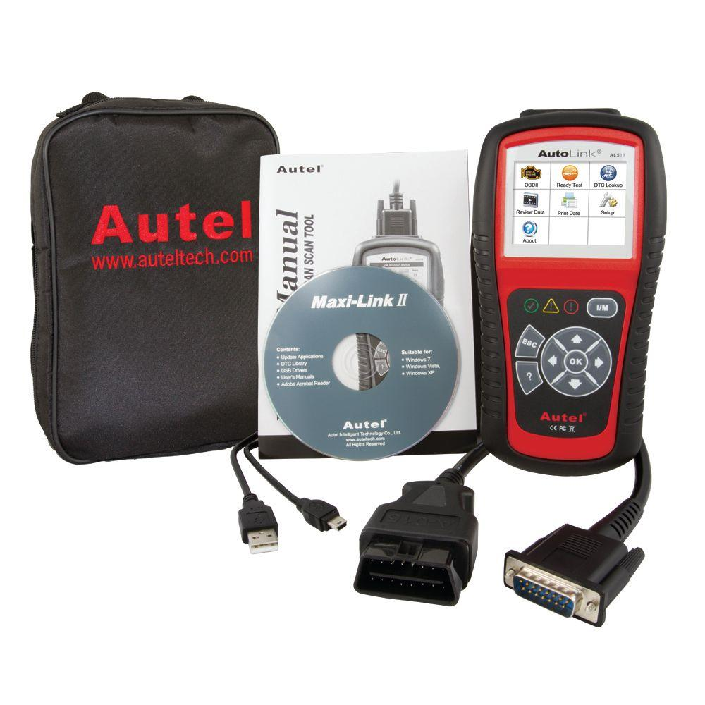 OBDII Scan Tool with Tech Tips