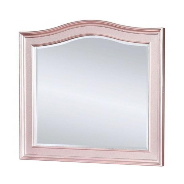 William S Home Furnishing Medium Arch Rose Gold Classic Mirror 38 5 In H X 46 In W Cm7171rg M The Home Depot