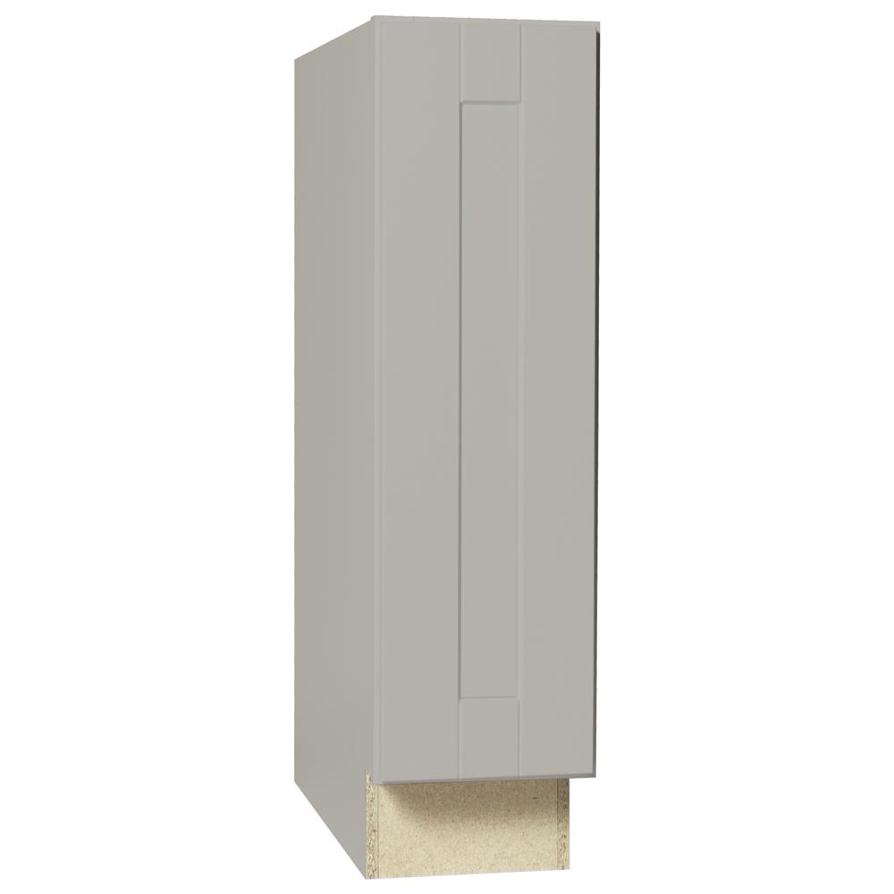 Shaker Assembled 21x36x12 in. Wall Kitchen Cabinet in Dove Gray