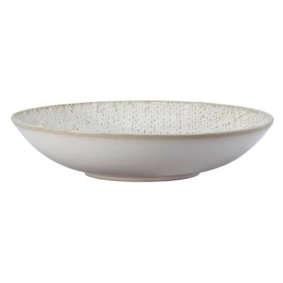 6 in. Knit Porcelain Deep Coupe Plates (Set of 48)