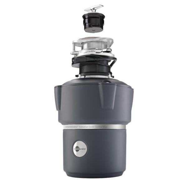 Insinkerator Evolution Cover Control Plus 3 4 Hp Batch Feed Garbage Disposal Cover Control Plus The Home Depot