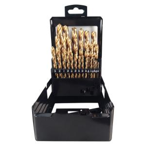 BLU-MOL Titanium Drill Bit Set (29-Piece) by BLU-MOL