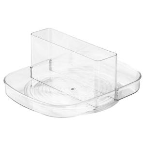 Linus Napkin Spinner in Clear