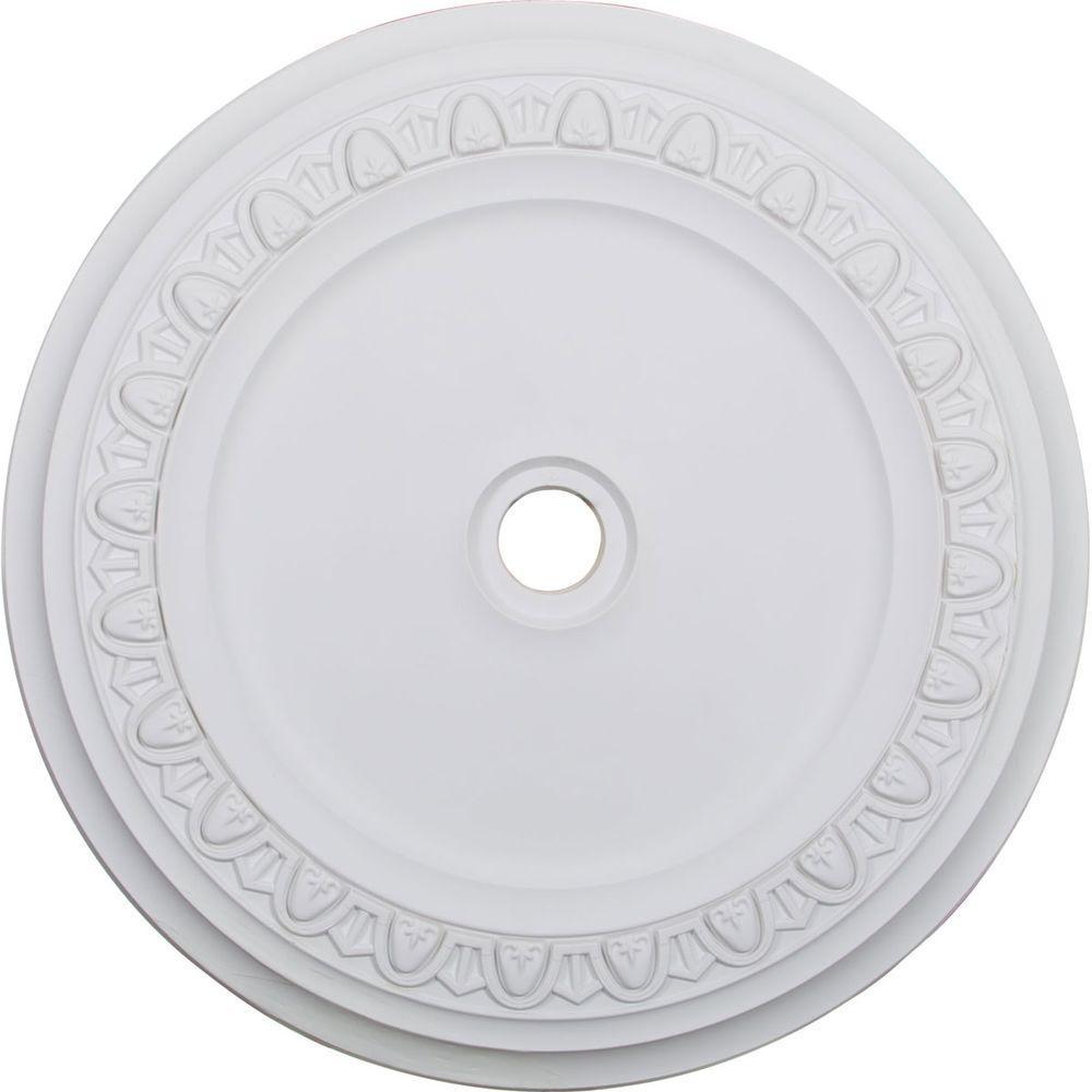 41 in. x 41 in. x 2-3/8 in. Polyurethane Caputo Ceiling Medallion