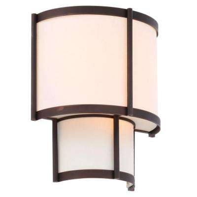 Edmonton Collection 3-Light Euro Bronze Sconce