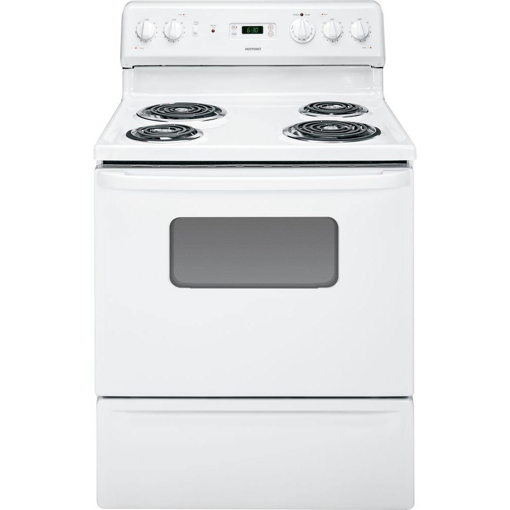 Hotpoint 5 cu. ft. Electric Range in White