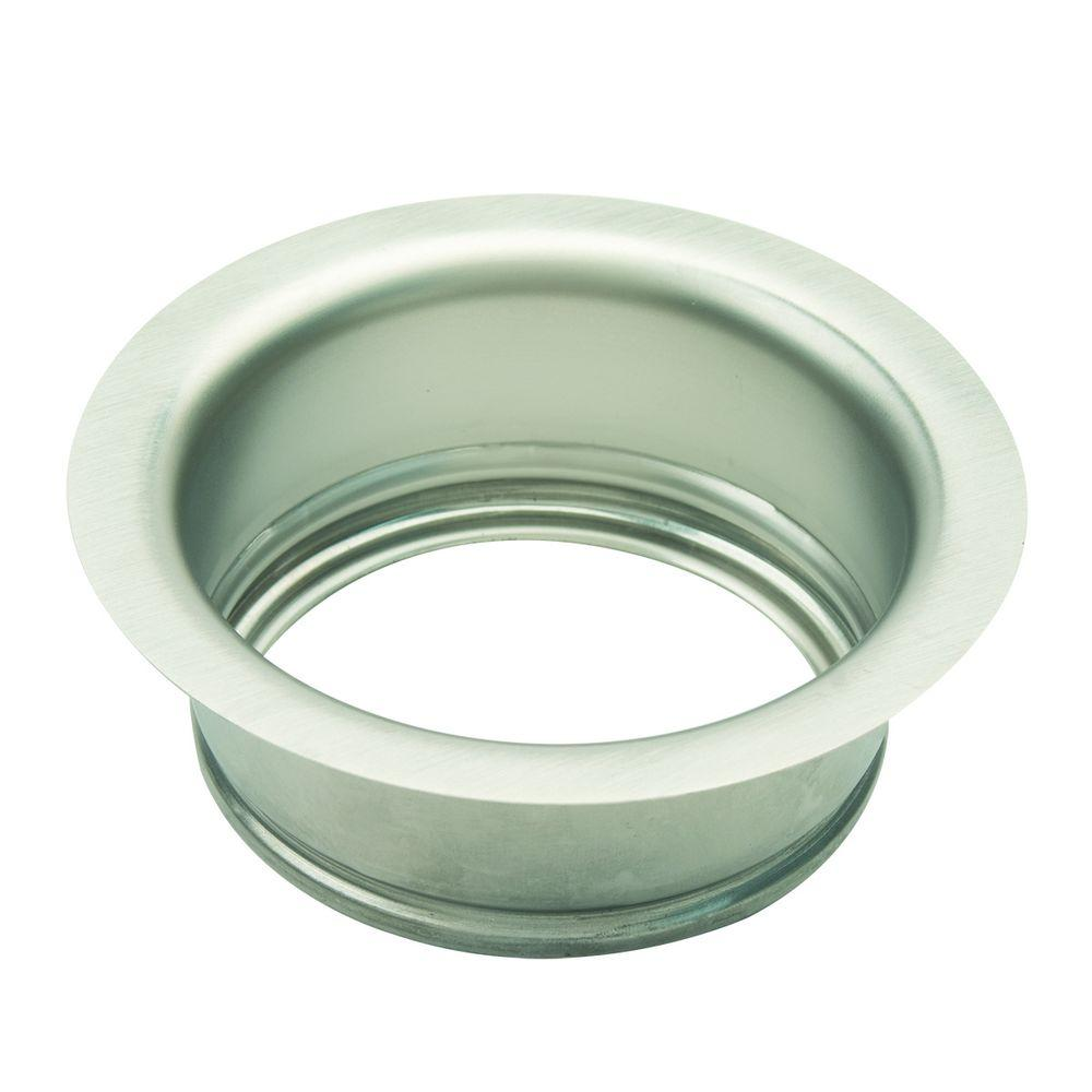 3-1/2 in. Garbage Disposal Flange in Satin Nickel