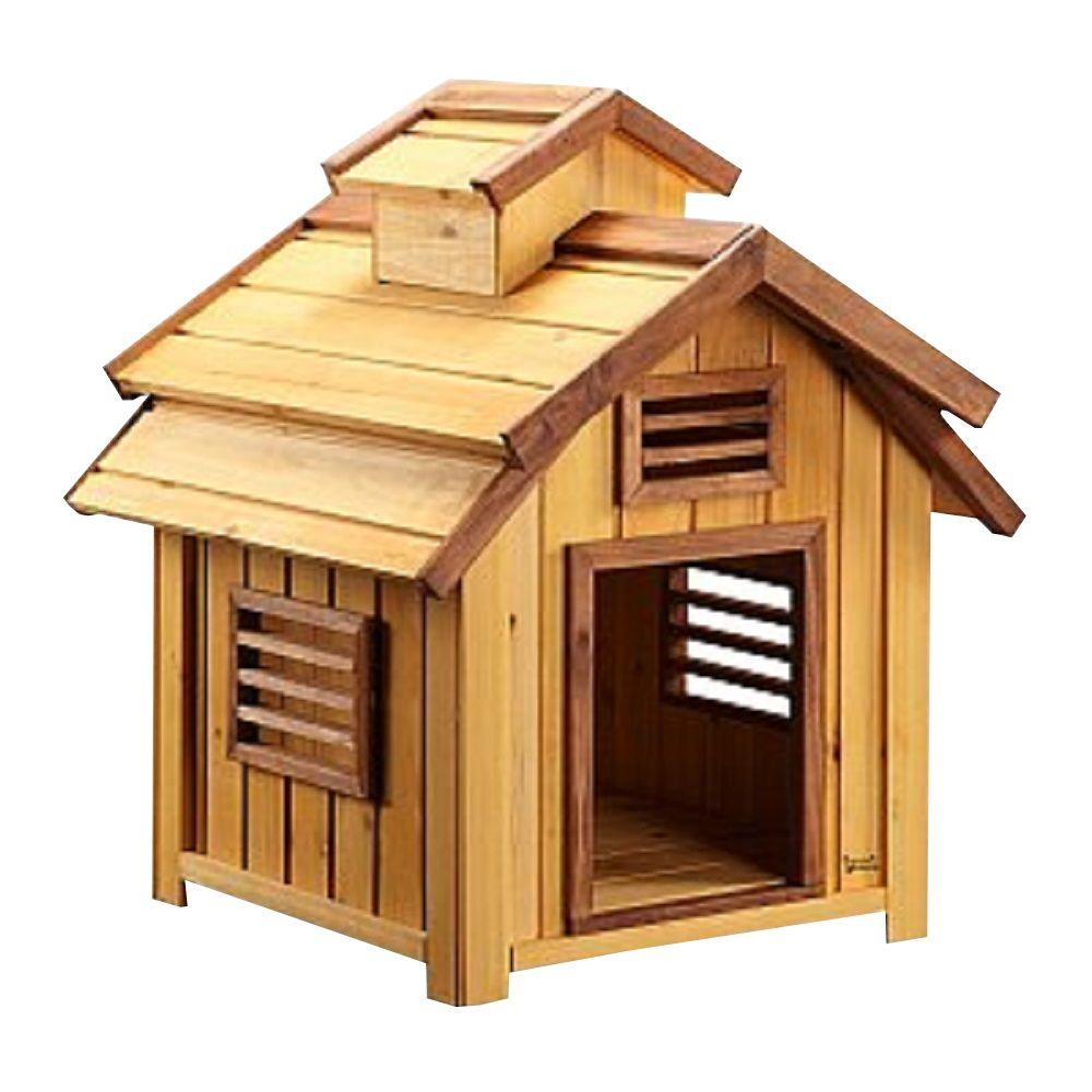 Pet Squeak 1.9 ft. L x 1.7 ft. W x 2.1 ft. H Small Bird Dog House