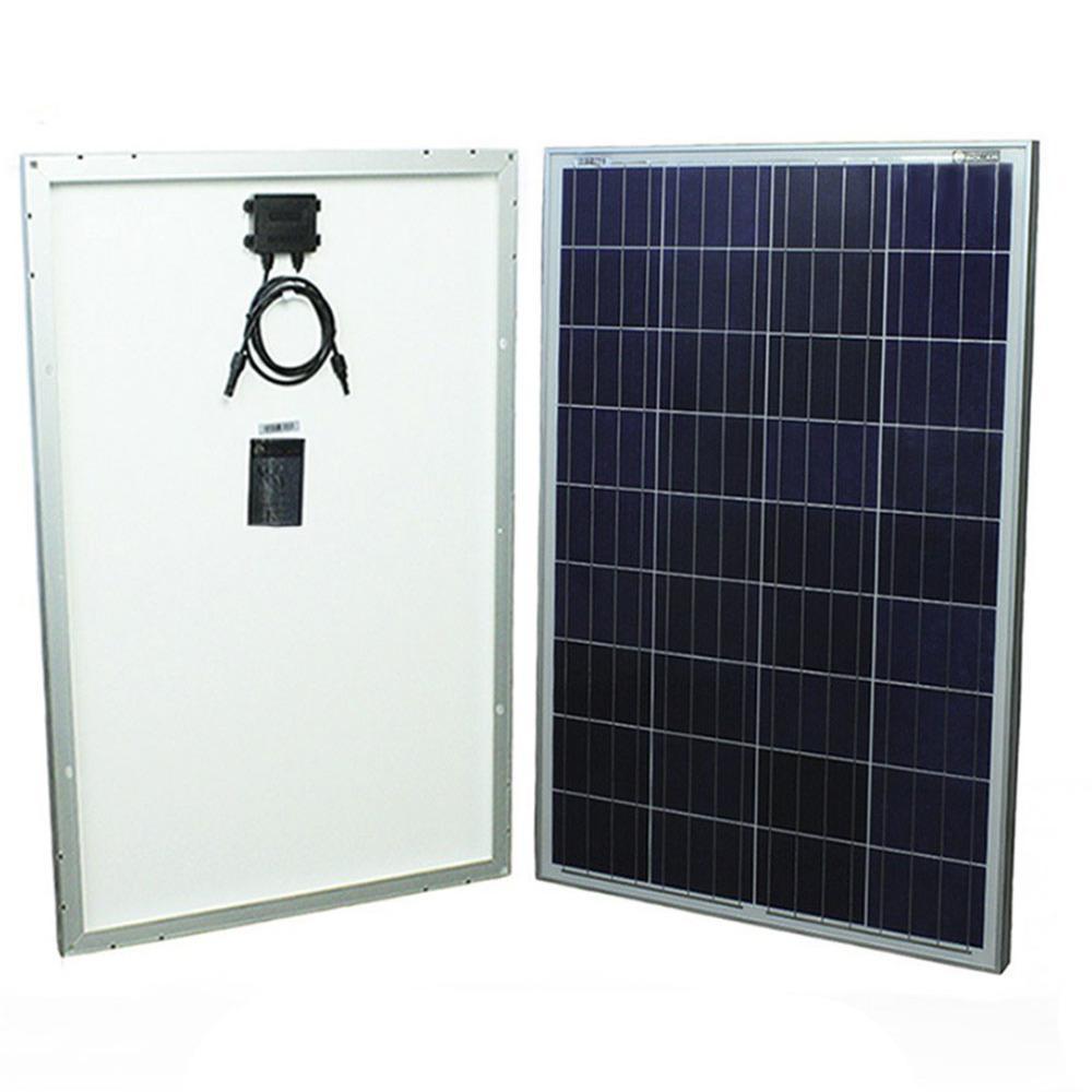 100-Watt 12-Volt Polycrystalline Solar Panel for RV's, Boats and Off Grid Applications
