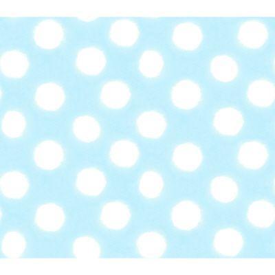 Disney 56 sq.ft. Blue Pastel Circle Watercolor Wallpaper-DISCONTINUED