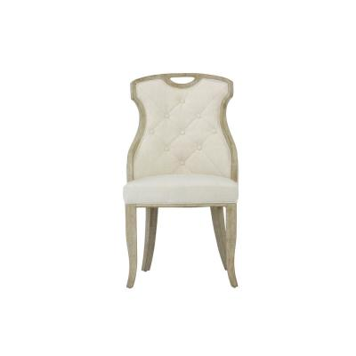 Solid Back Side Chair Cottage Dining Chairs Kitchen