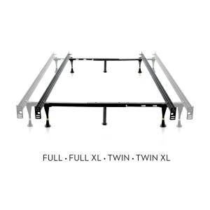 the latest 5524b f3539 Malouf Adjustable Metal Bed Frame ST4633GL - The Home Depot