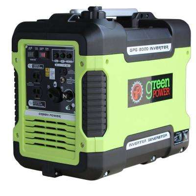 1,600-Watt Gasoline Powered Manual Start Inverter Generator